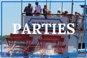 Have your next party or gathering on the Barbara J.